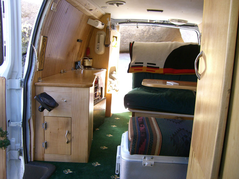 watch me convert a van to live in down by the river the something awful forums. Black Bedroom Furniture Sets. Home Design Ideas